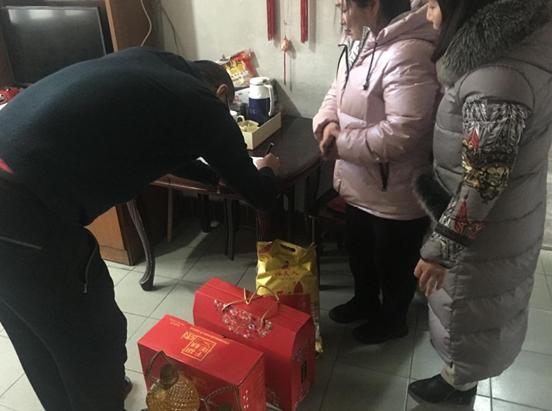 郑州市农大社区开展困难群众慰问活动