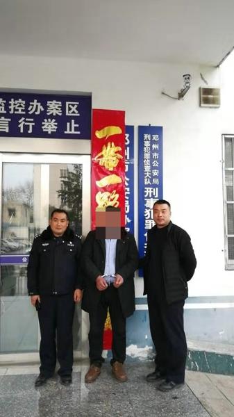 邓州:男子农田非法取土挖沙牟利被刑拘