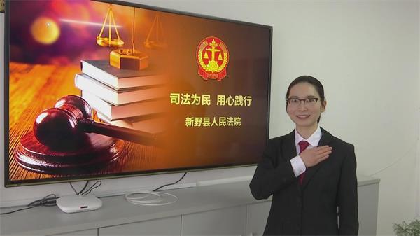 """新野法院积极开展""""对标楷模、践行初心""""主题党日活动"""