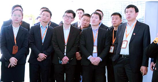 中钢网董事长及高管团队莅临天冰冷饮集团参观交流 共话发展