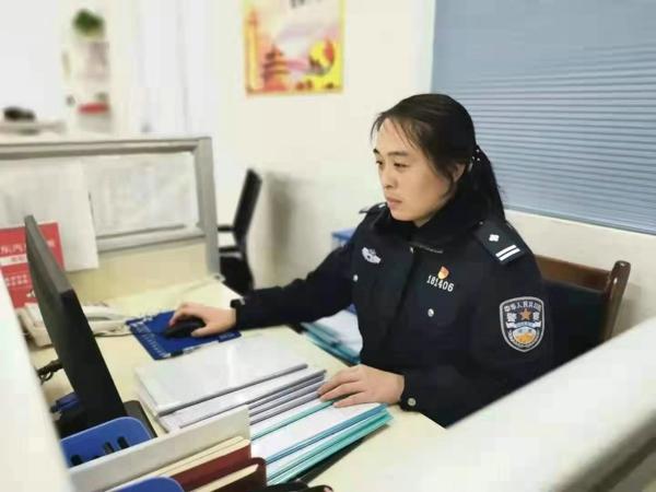 绽放在刑警队里的警花——南阳市公安局高新公安分局80后女警刘颖