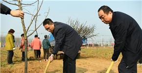 人勤春来早 添绿正当时 平顶山高新区开展春季义务植树活动