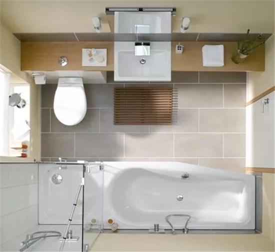 这样设计卫生间 舒适又美观