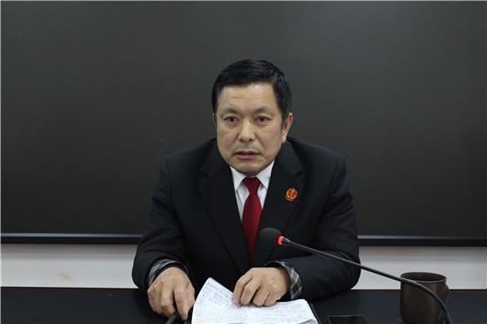 西峡法院召开廉政警示教育及执行工作推进会