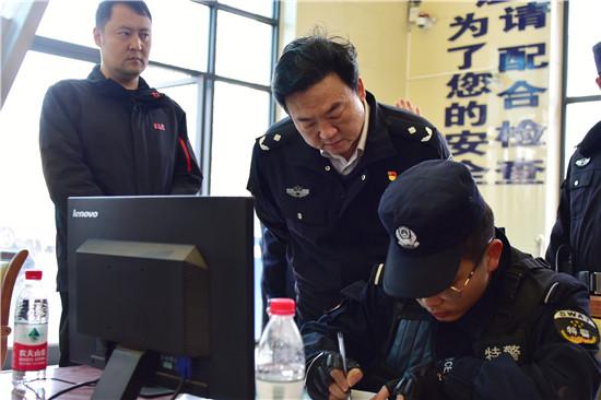 """周浩然深入邓州督导检查全国""""两会""""安保工作"""