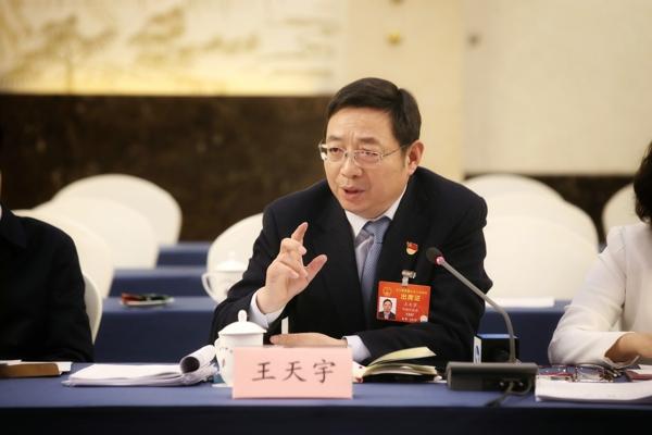 全国人大代表,郑州银行股份有限公司党委书记、董事长王天宇: 郑州打造金融高地,现实与目标越来越接近