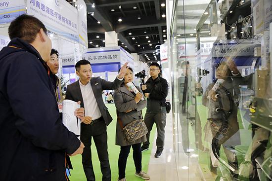 明峰医疗亮相中原医疗器械展览会  振兴民族医疗设备产业
