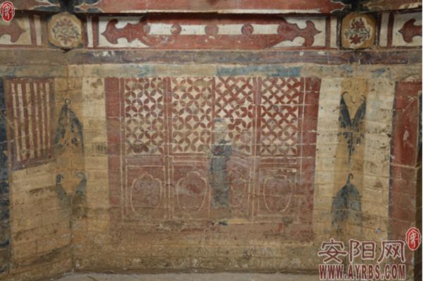 安阳首次发现金代高僧壁画墓