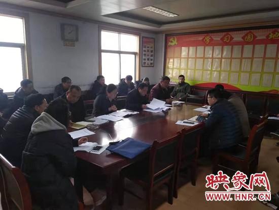 """遂平县和兴镇扎实开展""""乡晨会、村夜商""""工作"""