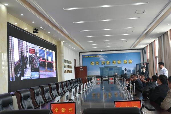 镇平县法院到唐河县法院交流学习信息化建设工作