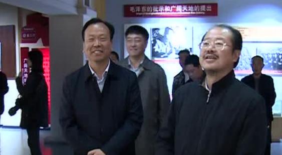 新华社河南分社社长王丁一行到郏县调研