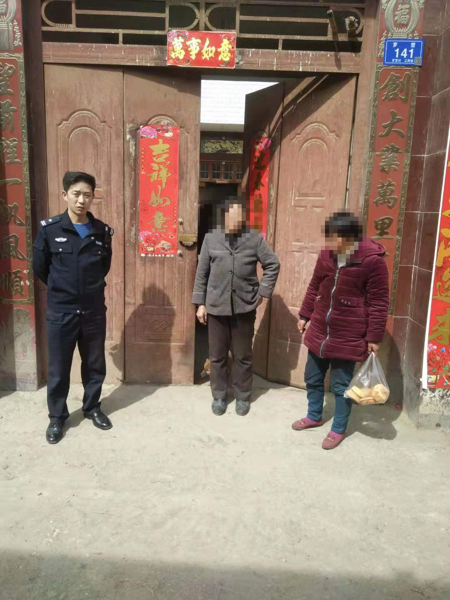 邓州:元庄派出所成功救助一名精神障碍患者
