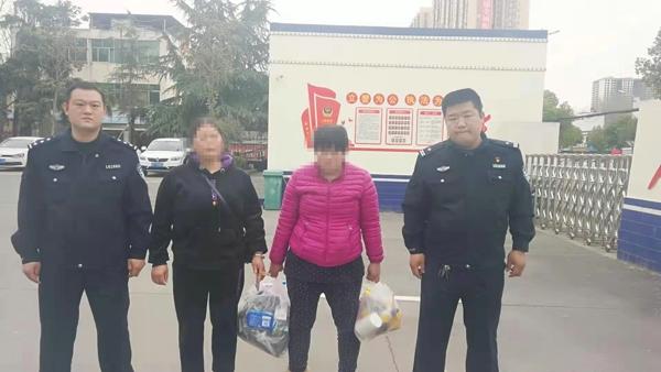 邓州:胜利派出所4小时帮助群众找回离家出走2天的孩子