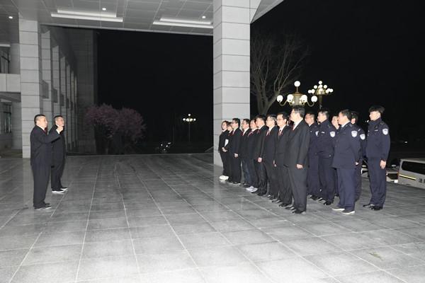 内乡法院凌晨开展集中执行行动
