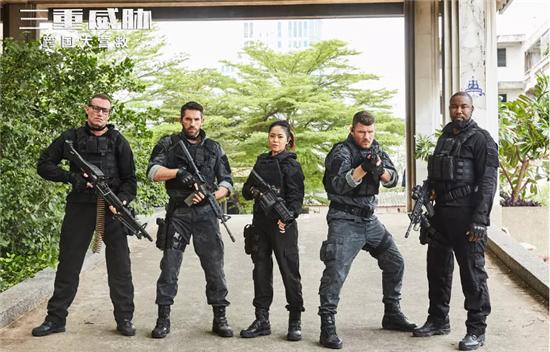 """IMDB8.5分的《三重威胁》即将上映 顶级动作巨星""""拳""""力出击"""
