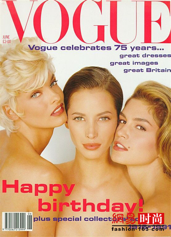 90年代五大超模之一 她拥有最完美的五官