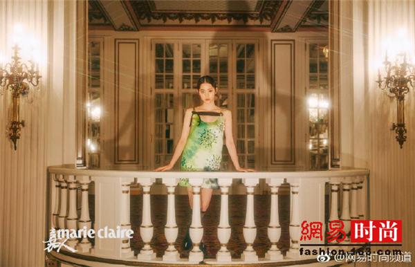 欧阳娜娜波士顿拍大片 惊艳了时光