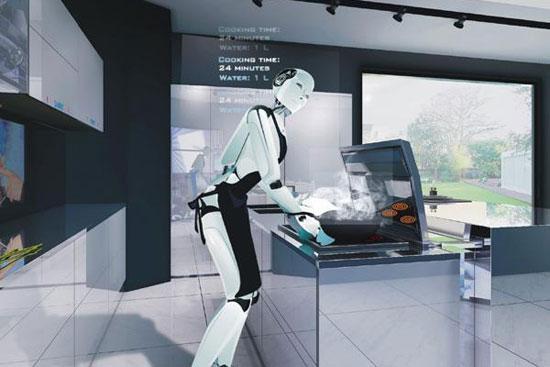 """从厨房到餐厅,智能科技涌上""""舌尖"""""""