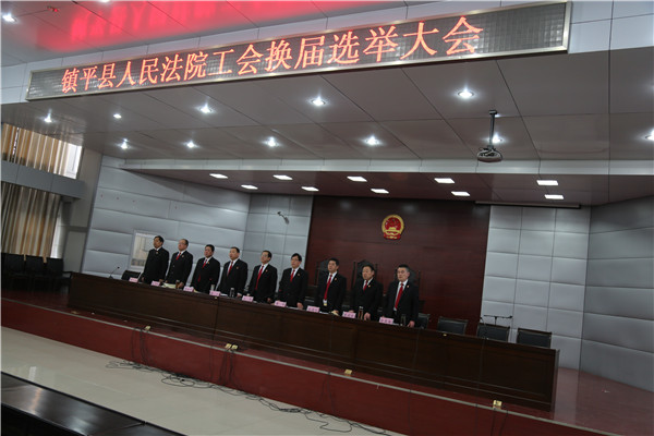 镇平县法院圆满完成工会换届选举