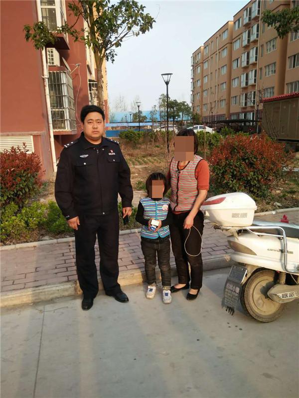邓州湍河派出所积极搜寻走失女童
