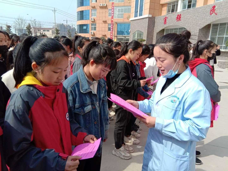 宁陵县疾控中心:春季流行性疾病防控知识进校园