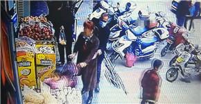 """南阳一男子带着口罩偷手机 被自己""""M""""形发际线出卖"""