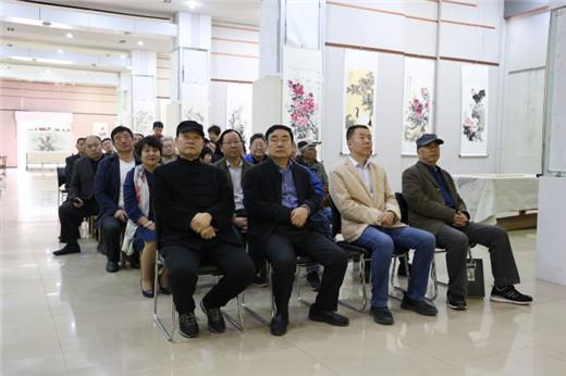 龙都风采——濮阳市花鸟画作品展在河南大观美术馆开幕