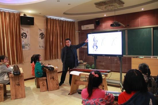 古意松风自清音 ——郑州市闫垌小学古琴课程开课了