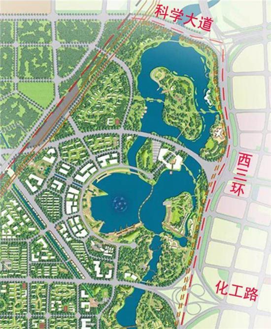 郑州西流湖成湖面积达2200亩 相当于13个如意湖