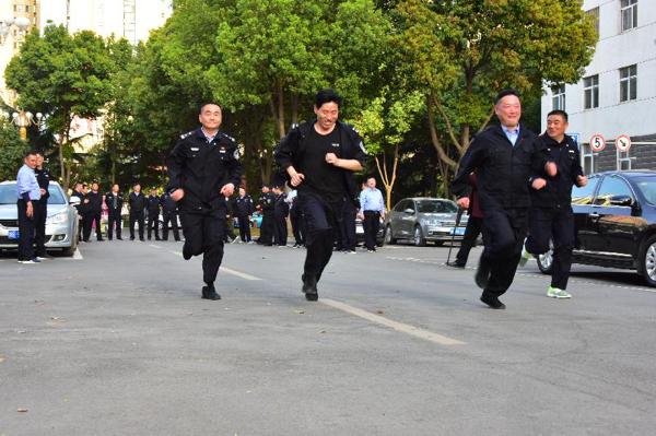 邓州市公安局举行警务人员积分管理启动仪式