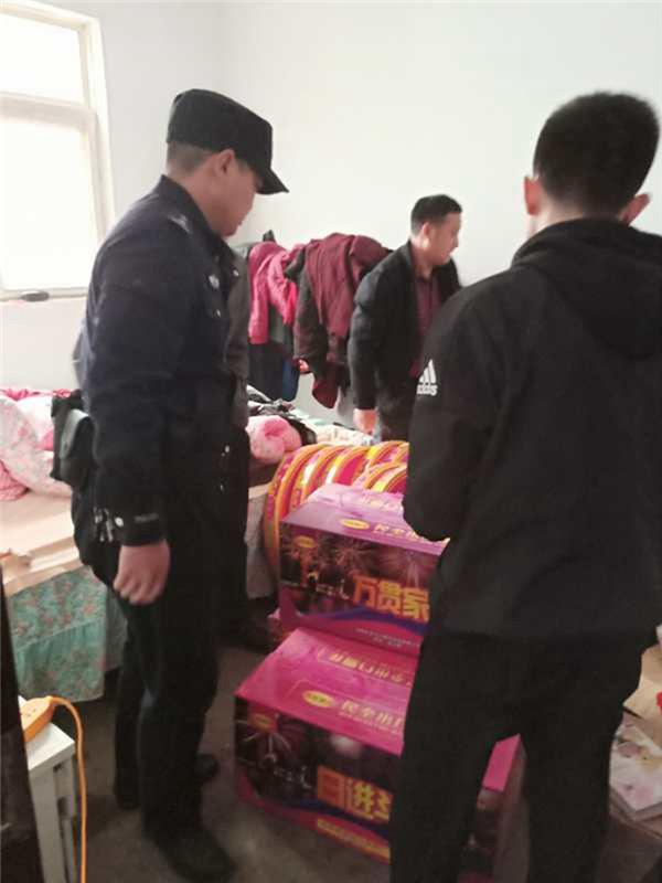 社旗县公安局全面开展清明节期间烟花爆竹管控工作