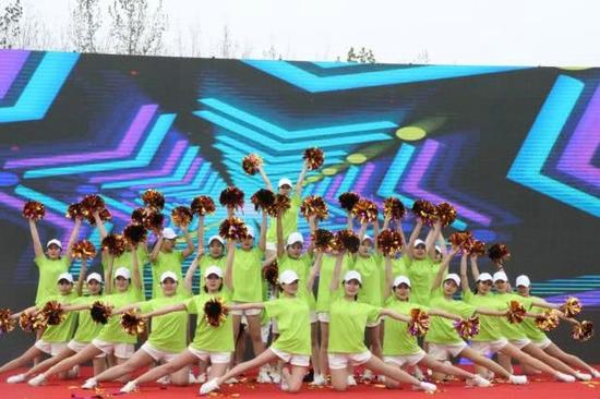 体彩环中原2019自行车公开赛许昌襄城站开赛