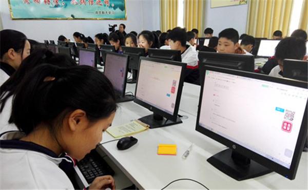 唐河开展中小学生网上祭英烈主题教育活动