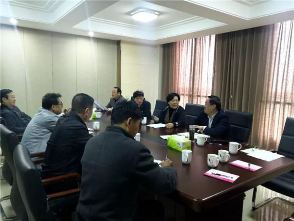 区委书记高贤信到河南医圣堂大健康产业集团调研