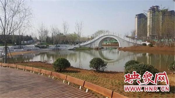 """漯河""""小南湖湿地公园""""正加紧建设 今年""""五一""""可开园"""