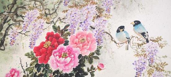 著名画家石鹤及弟子青年画家梁丹:倾尽心力专注国画的深耕与传承