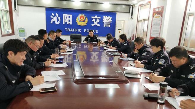 战前动员!沁阳市提前部署清明节道路交通安保工作