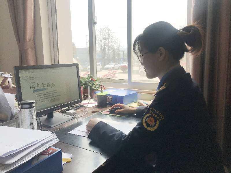 """虞城县城市管理局 开展清明节""""网上祭英烈""""活动"""