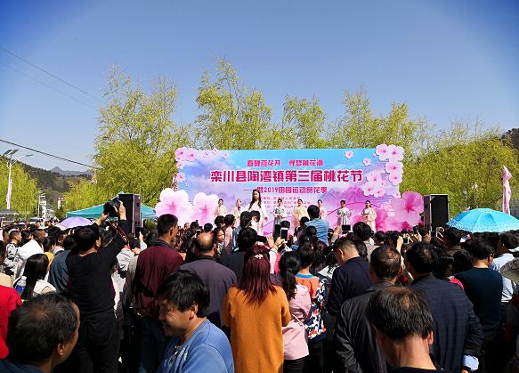 四月阳光正好,栾川县陶湾镇第三届桃花节绚丽来袭!