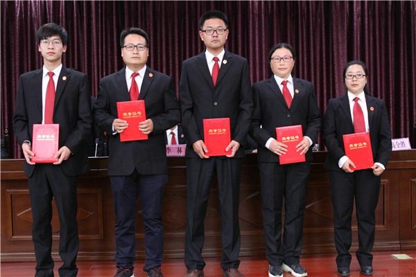 社旗县人民法院召开2019年工作暨党风廉政建设工作会