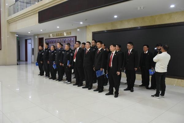 唐河县法院开展涉民生案件专项集中执行活动