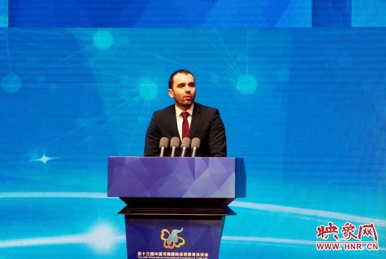 匈牙利外交与对外经济部副国务秘书约·伊什特万:郑州与布达佩斯已开通空中货运航线