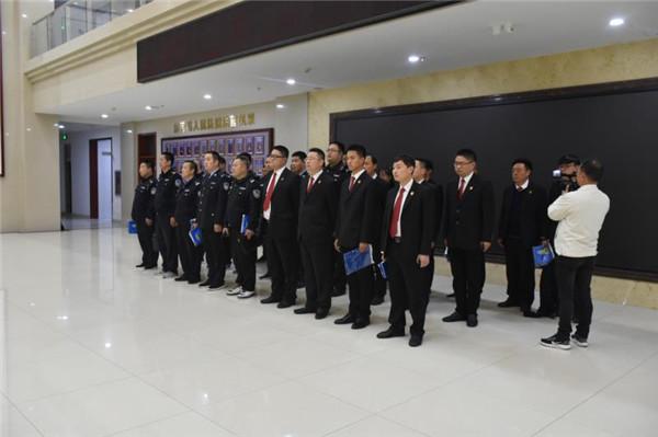 唐河法院开展涉民生案件专项集中执行活动