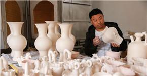河南宝丰:传承汝瓷技艺的乡村青年