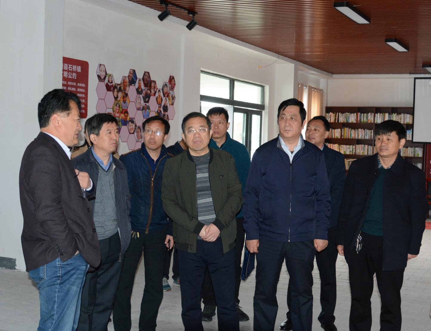 温县政协考察团到宁陵县考察学习移风易俗工作