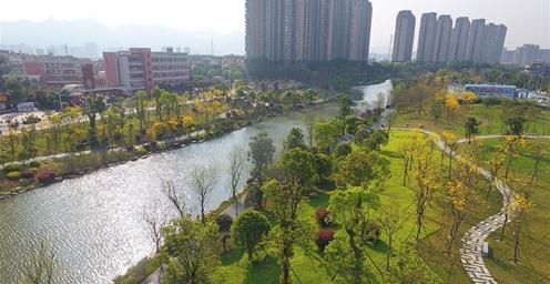 福州:水清、河畅、岸绿 流花溪风景如画