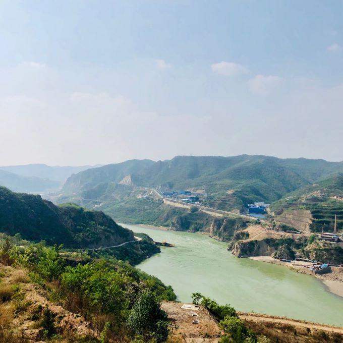 """""""生态文明媒体行""""走进三门峡:两岸青山翠 涛涛黄河流"""