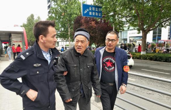暖心!八寻老人外出散心迷路 郑州公交站长帮其回家