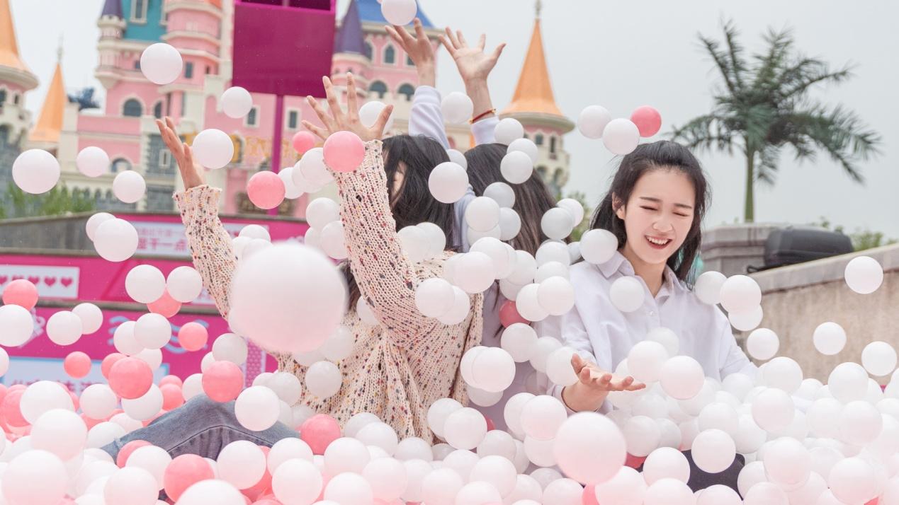 五一小长假 郑州方特将为游客打造一个粉色海洋