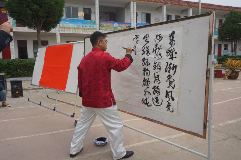 """民权县状元书院成立暨""""优秀传统文化进校园""""活动启动仪式在双塔举行"""